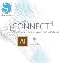 画像1: SilhouetteCameo(シルエットカメオ)シリーズ専用 Adobe Illustrator イラストレーター プラグイン SilhouetteConnect